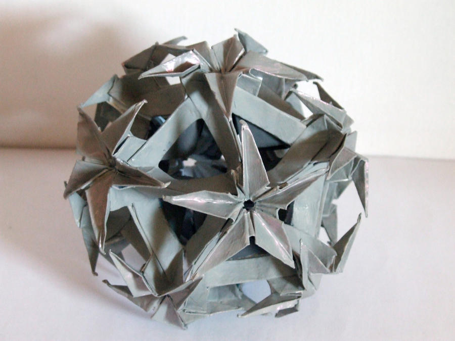 Grey origami by SkyWookiee