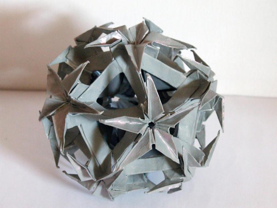 Grey origami by SkyWookiee
