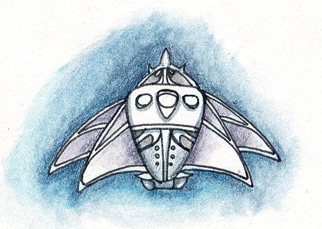 Spaceship 17 by SkyWookiee