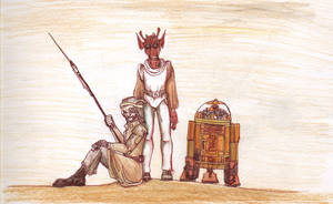 Human, Rodian, Droid... by SkyWookiee