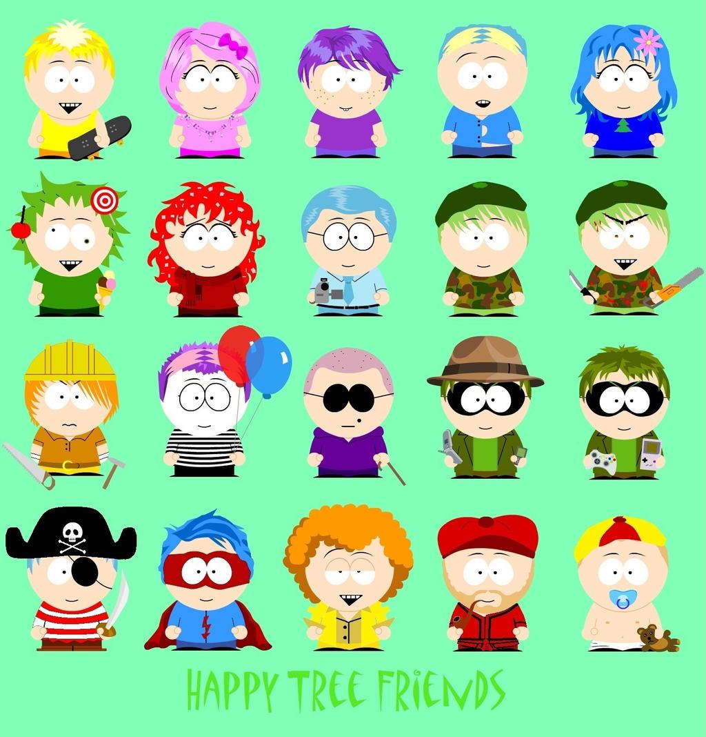 Happy Tree Friends Characters List