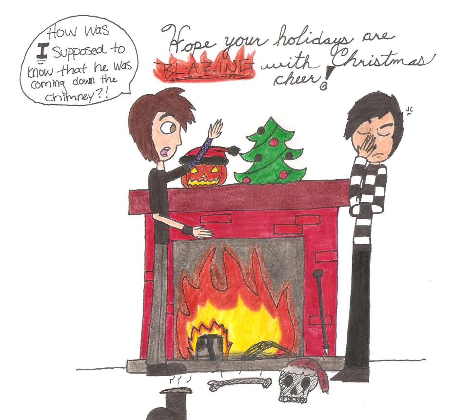 Christmas With Creature Feature by killALLthezombies