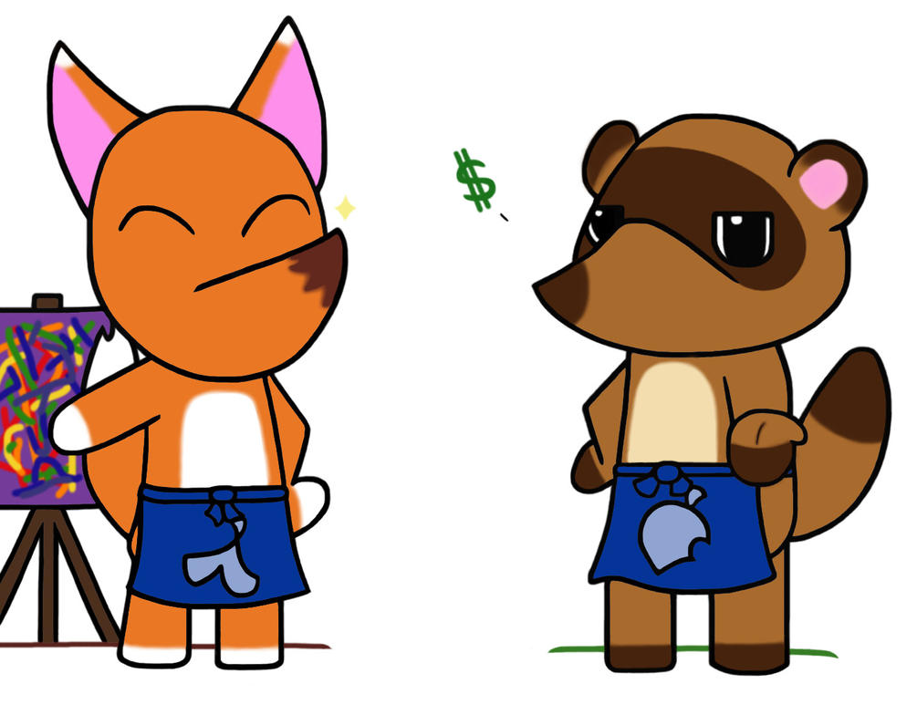 The Crooks of Animal Crossing by killALLthezombies