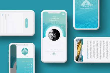 Electronic Radio Station App UI kit 1 by ahmedmakky