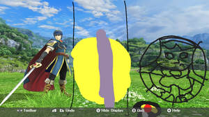 Transparent Marth Ball TF