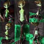 Original fantasy Bjd - Forrest Dryad by Imagine-doll