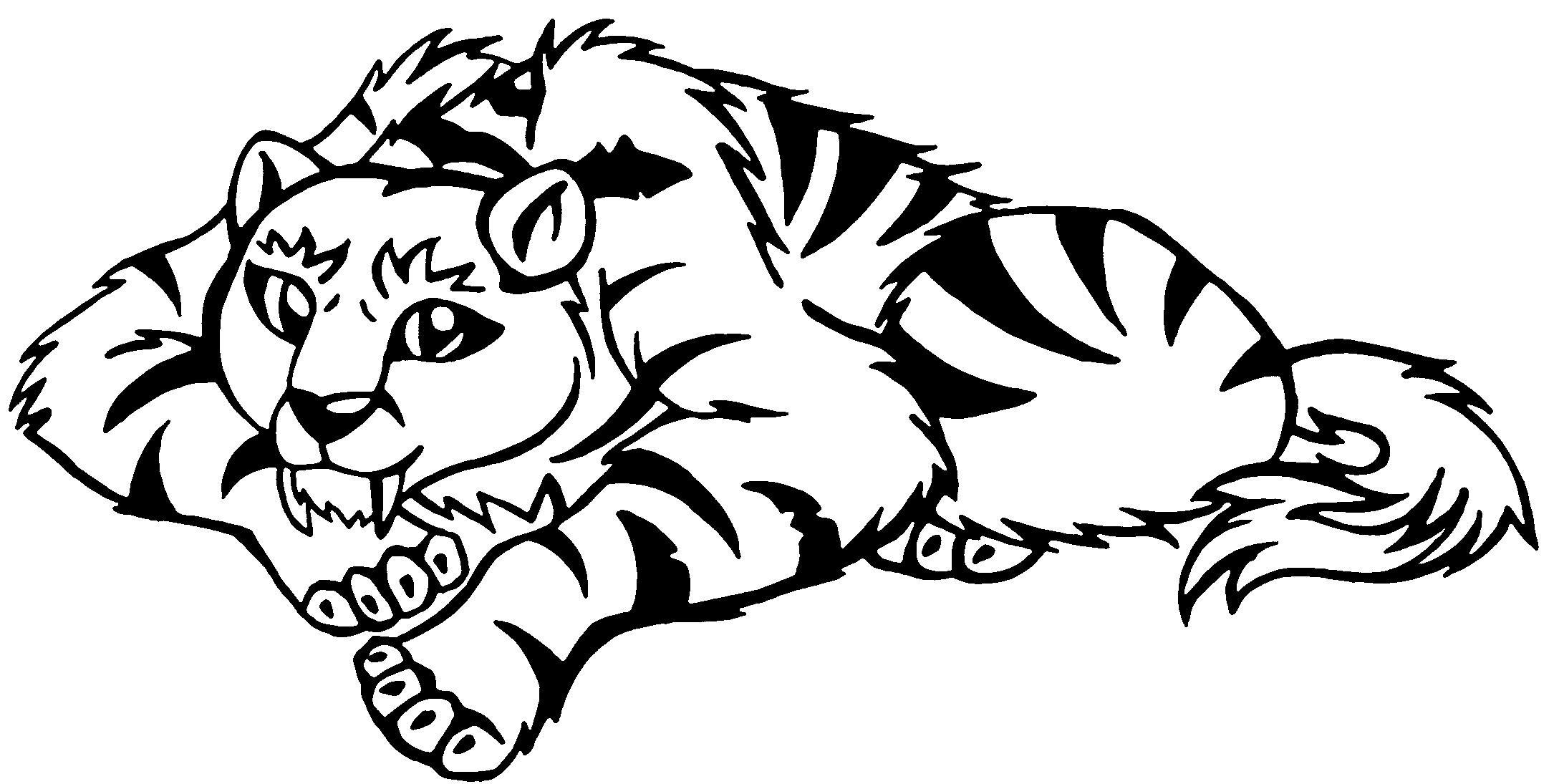saber tooth tiger coloring pages - the gallery for saber tooth tiger skull tattoo