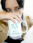 SnK Cosplay: Keep Calm and KILL Titans