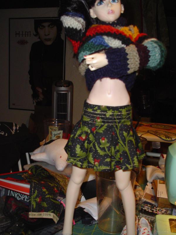 Gift Skirt 1 by NannaElle