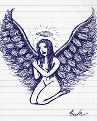 Bored on the Bus: Angel by TigerK0690