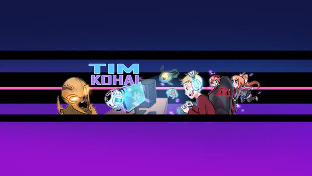 Tim Kohai Gamer - Banner