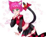 Magenta kitty
