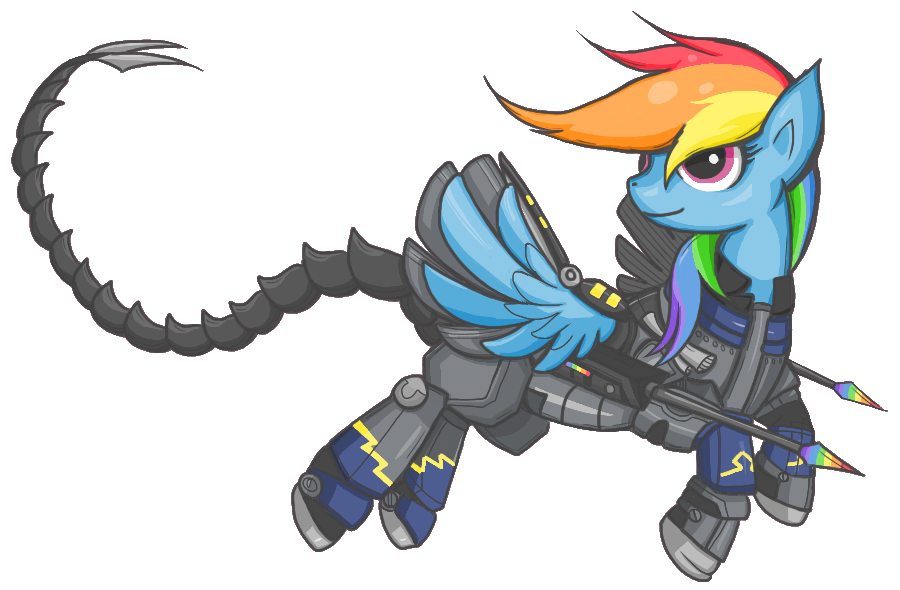 Ministry Mare Rainbow Dash by whispir