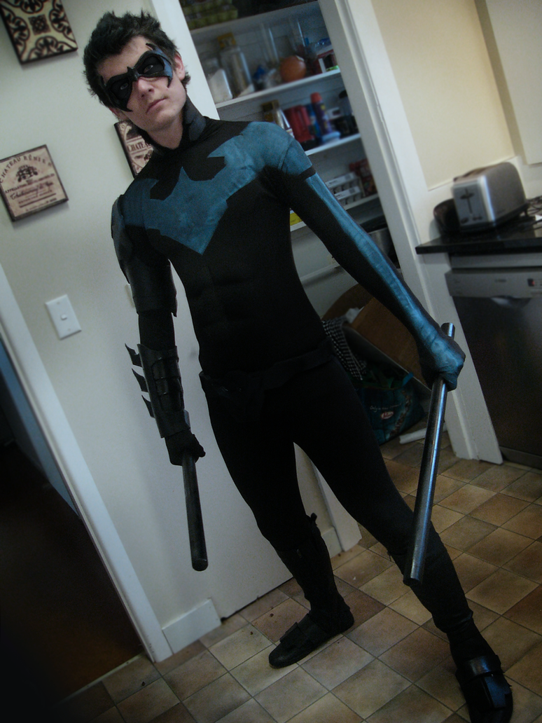 EPIC Nightwing (Batman) Custom costume =) by CpCody on DeviantArt