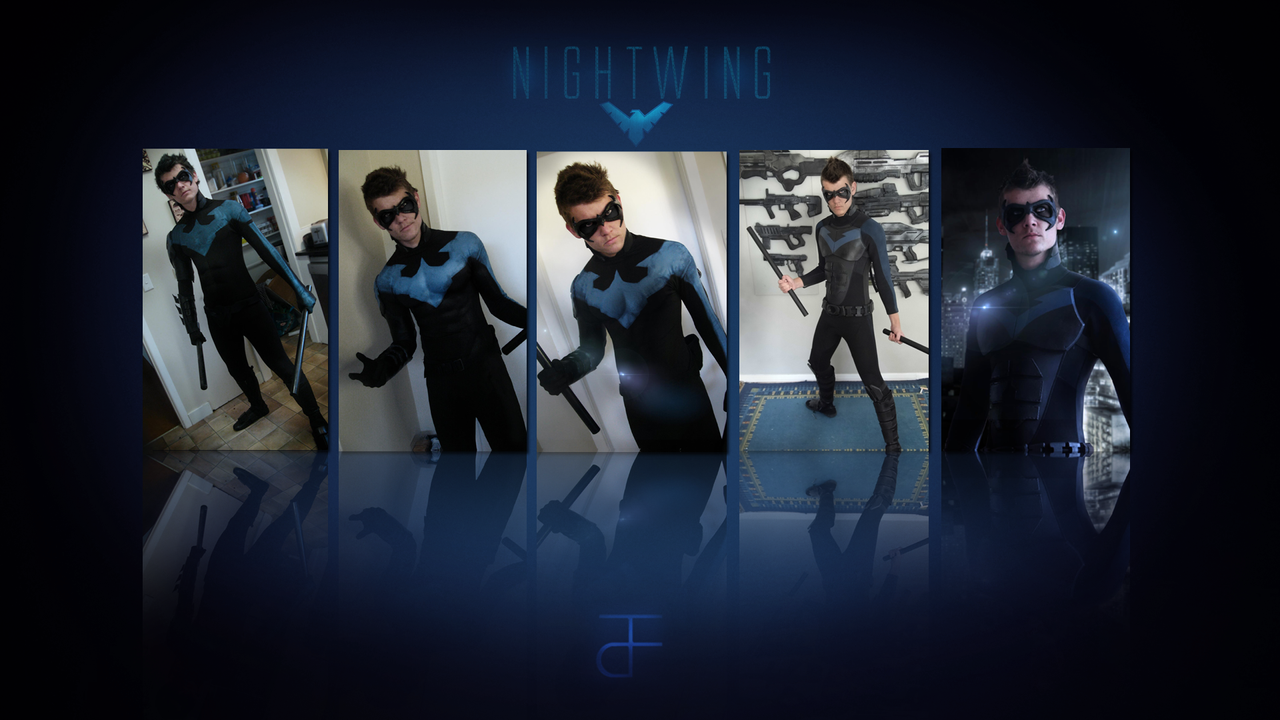 Cosplay : Nightwing by CpCody