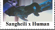 Sangheili x Human by RoseOfTheNight4444