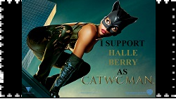 Halle Berry as Catwoman Stamp by RoseOfTheNight4444