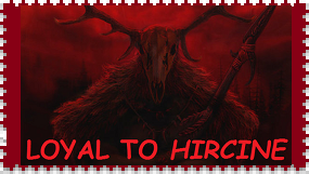 Hircine Fan Stamp by RoseOfTheNight4444
