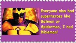 Bibleman Stamp 2 by RoseOfTheNight4444