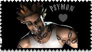 Psymon Stark Stamp by RoseOfTheNight4444
