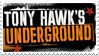 Tony Hawk Underground Stamp by RoseOfTheNight4444