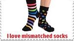 Mismatched socks Stamp by RoseOfTheNight4444