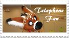 Telephone (The Dutch Angel Dragon Furry) Stamp by RoseOfTheNight4444
