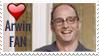 Arwin Hochauser Fan Stamp by RoseOfTheNight4444