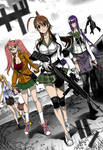 Highschool of the dead 1 Color
