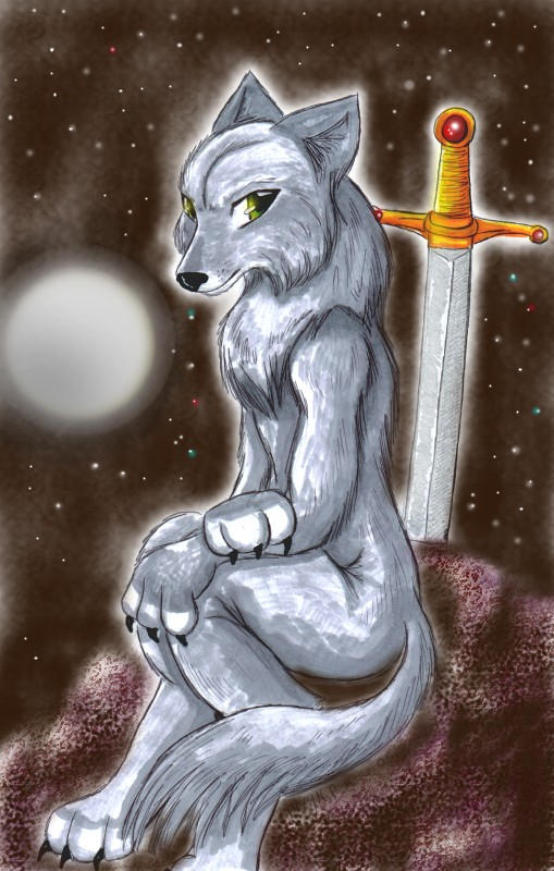 Art Trade - Werewolf Pamu by ellana