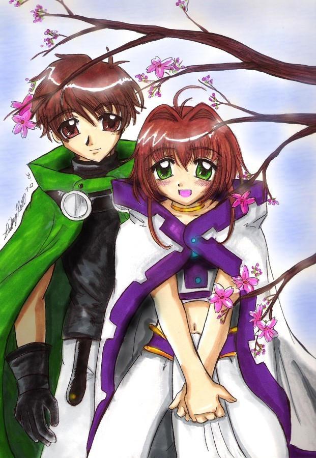 TRC - Syaoran + Sakura by ellana