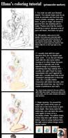 Ellana's Coloring Tutorial by ellana