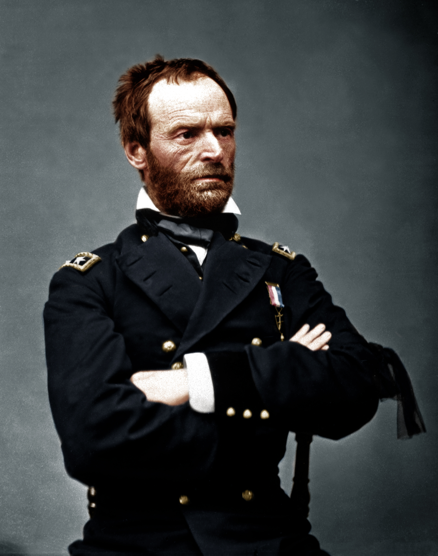 William T Sherman As Major General By Zuzahin On Deviantart