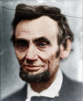Abraham Lincoln, mis-quoted last portrait in life by Zuzahin