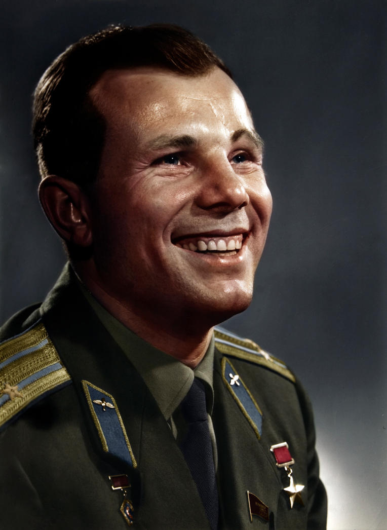 Yuri Gagarin by Zuzahin