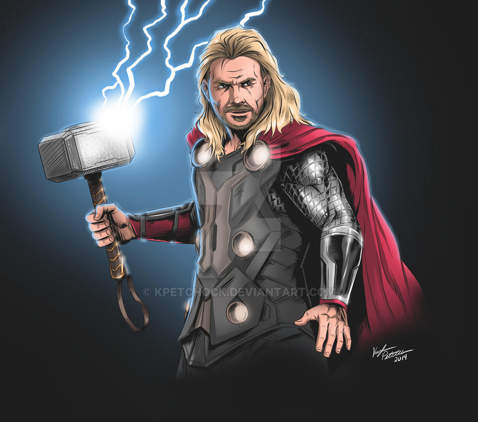 Summon The Lightning By Kpetchock On DeviantArt