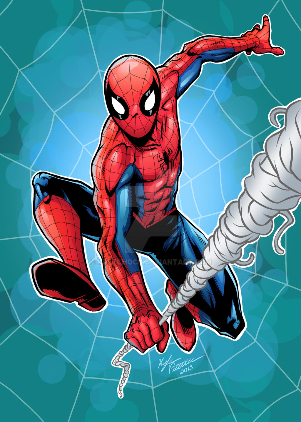 The Amazing Spiderman by kpetchock