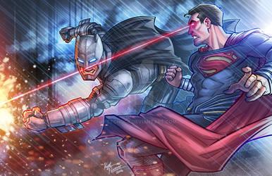 Batman V Superman Clash