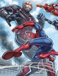 Team Iron Man Vs. Giant Man - Civil War