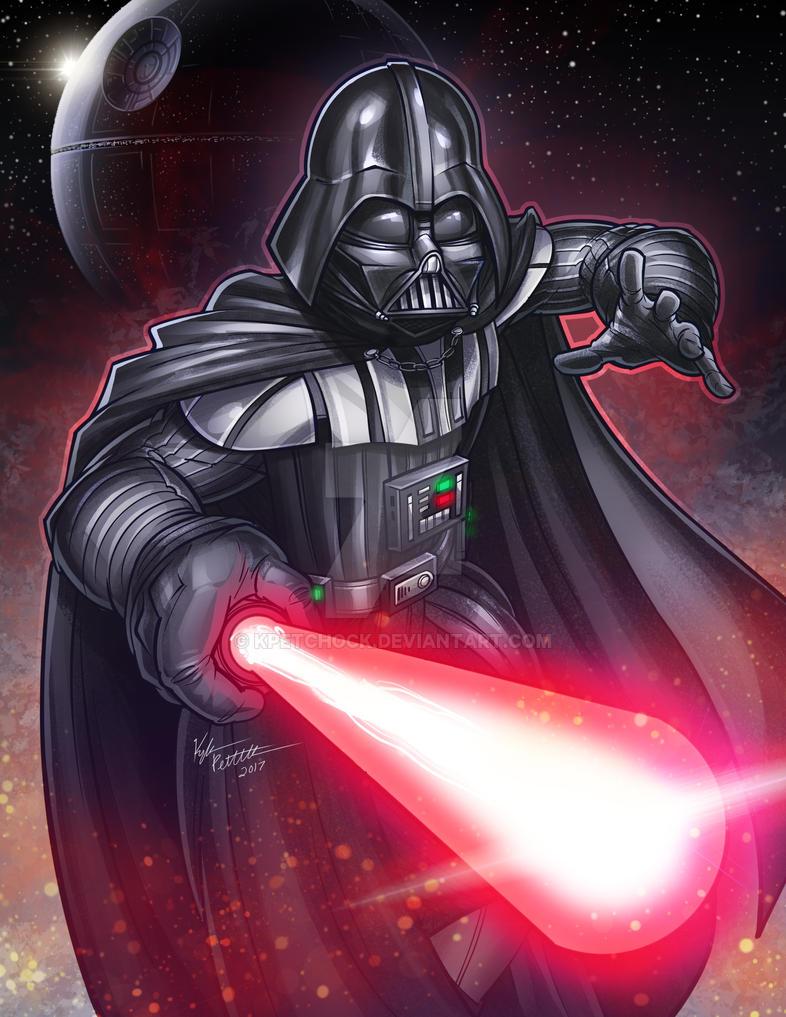 Darth Vader by kpetchock