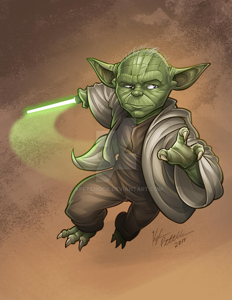 Master Yoda by kpetchock