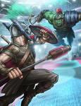 Thor Vs. Gladiator Hulk