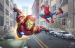 Iron Man And Spidey