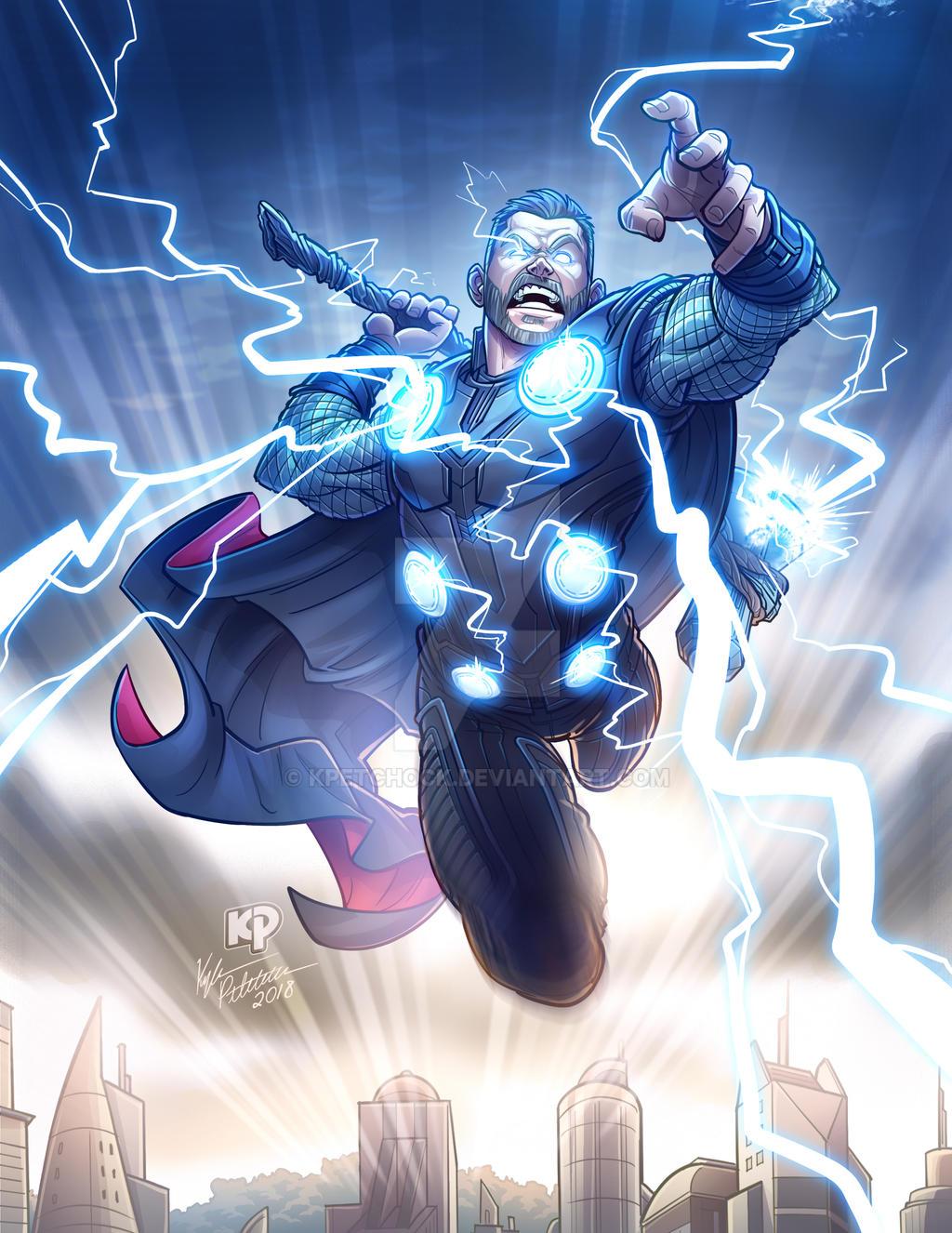 Thor - Avengers Infinity War