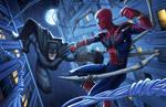 Batman Vs. Spider-Man - Marvel/DC Crossover