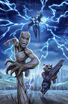 Thor and Company Enter Wakanda