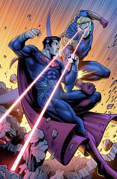 Superman Vs. Homelander