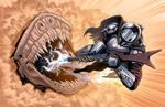 Mando Vs. The Krayt Dragon