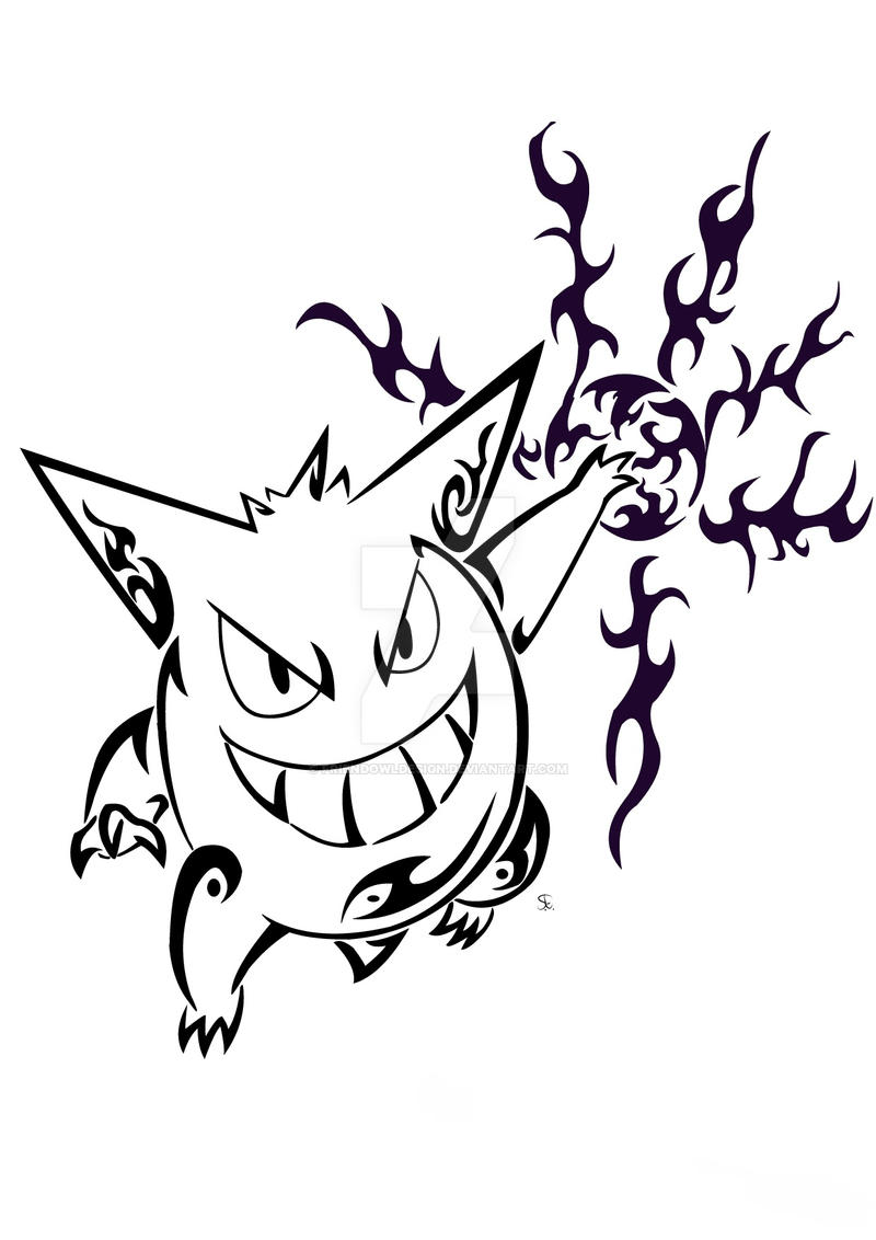 Tribal Gengar by Friend-Owl