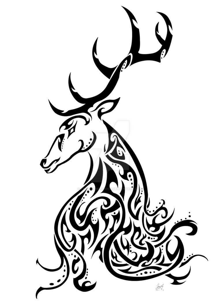 37 Tribal Deer Tattoos Ideas And Designs  Askideascom